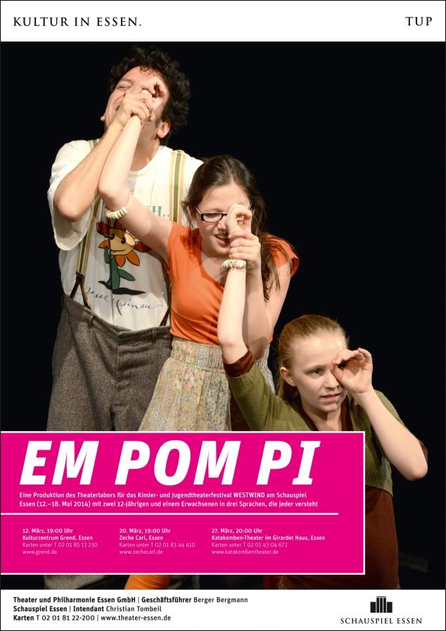 Plakat Em Pom Pi